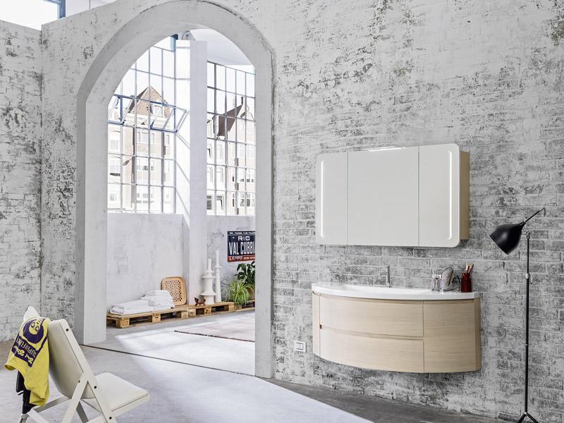 Arredo bagno moderno Linea Linfa by ARBI