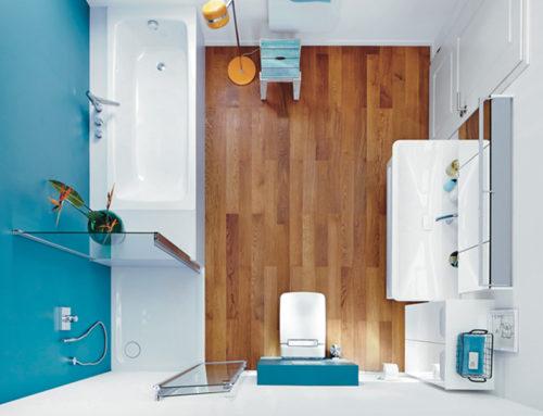 6 soluzioni per un bagno piccolo al mare