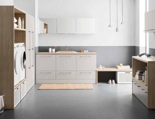 Lavanderia in casa: tre soluzioni per tre diverse dimensioni
